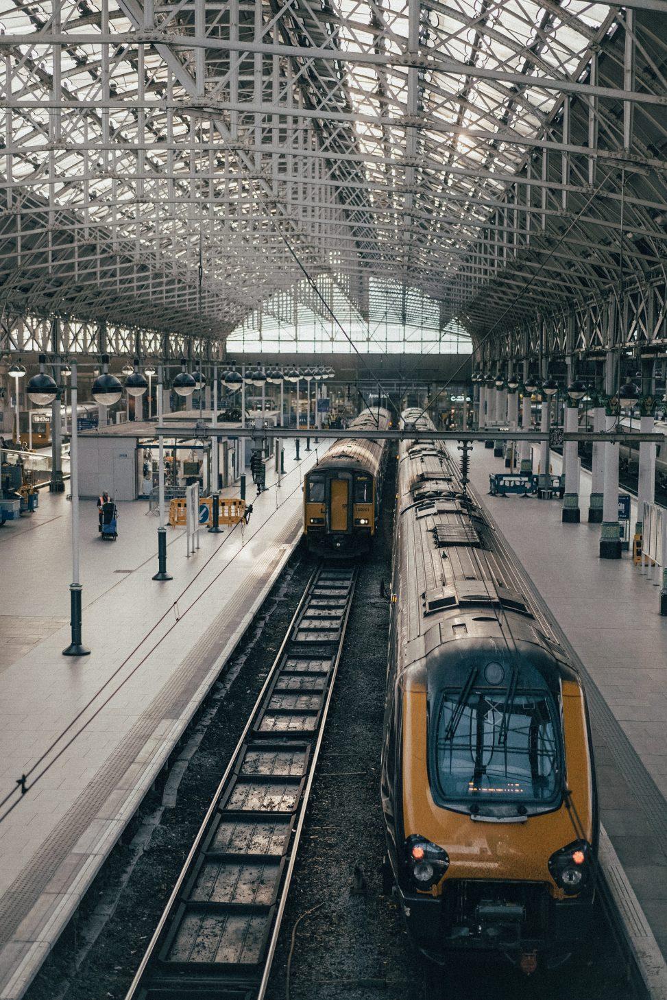 Lange ture i toget